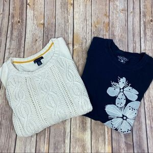 Tommy Hilfiger Top/Sweater Set, Size Small